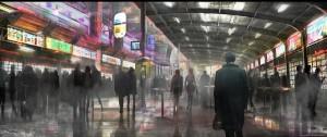Concept art for Blade Runner 2